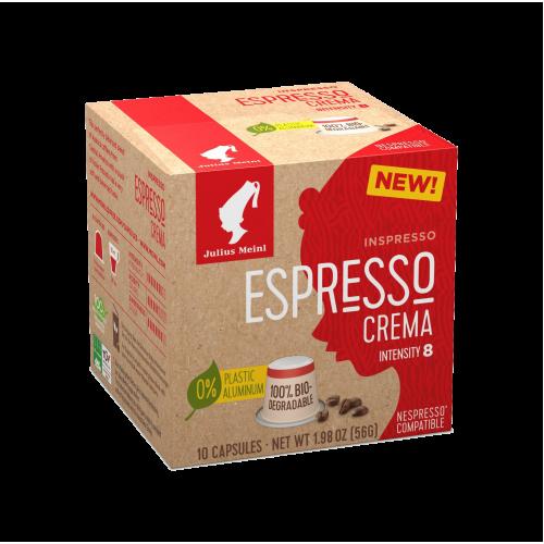 JULIUS MEINL ESPRESSO CREMA NESPRESSO COMPATIBLE COFFEE CAPSULES 10PCS