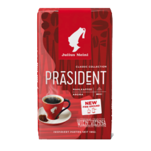 PRESIDENT GROUND COFFEE  250gr